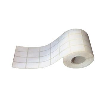 برچسب پرینتر لیبل زن مدل 20*40 کاغذی 4 ردیفه